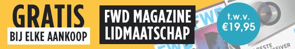 Gratis FWD Magazine lidmaatschap bij elke aankoop