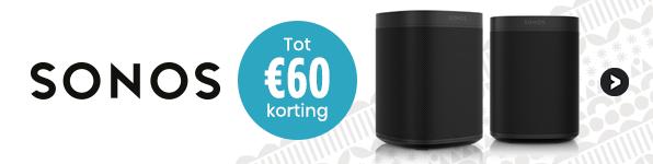 Sonos tot €60 korting