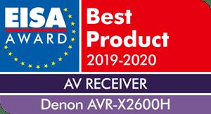Denon X2600H - EISA AWARD