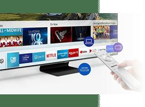 Samsung Q85R - Smart Hub